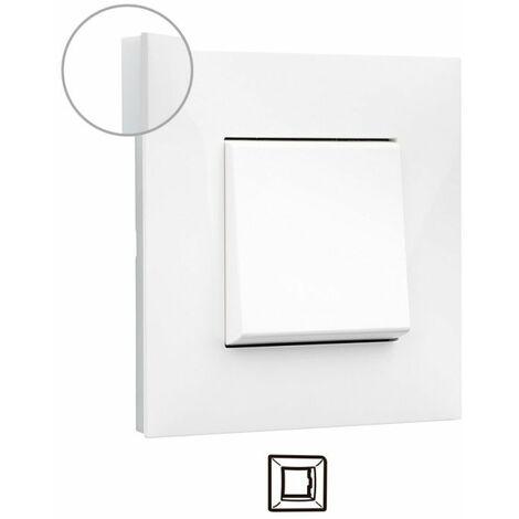 Marco 1 elemento Legrand 741001 serie Valena Next color blanco opal