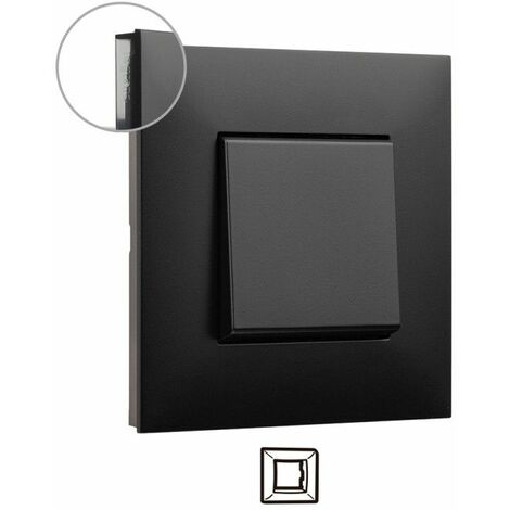 Marco 1 elemento Legrand 741051 serie Valena Next color Dark Fume