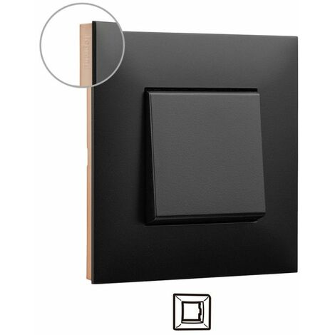 Marco 1 elemento Legrand 741071 serie Valena Next color Dark cobre