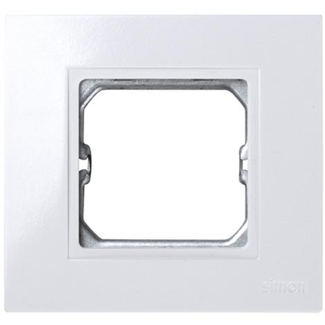 Marco 1 elemento para pieza intermedia Blanco