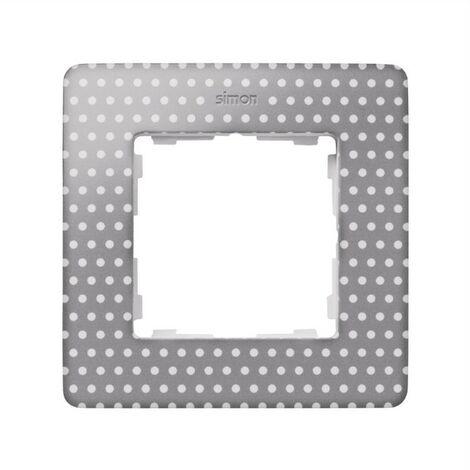 Marco 1 elemento topos gris cálido SIMON 82 DETAIL 8200610-211