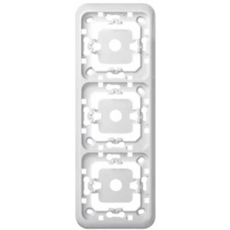 Marco 3 elementos blanco Simon73 73630-30