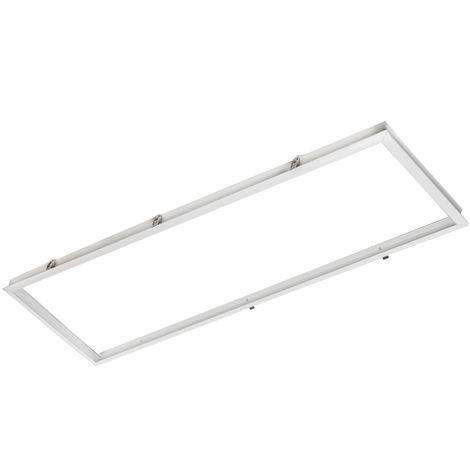 Marco Aluminio Panel LED 120x30Cm (HO-AF-1200x300)