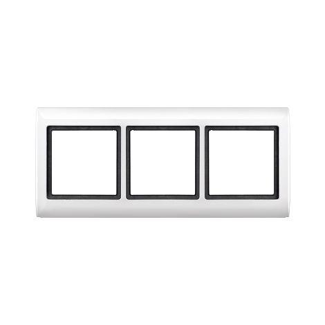 Marco Aquadesign 3 elemento Marfil SCHNEIDER ELECTRIC MTN400319