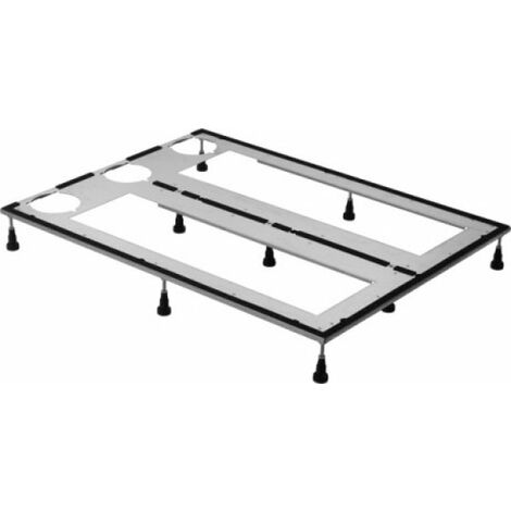 Marco base Duravit para platos de ducha 160x90 cm, altura ajustable 8-10 cm - 790184000000000