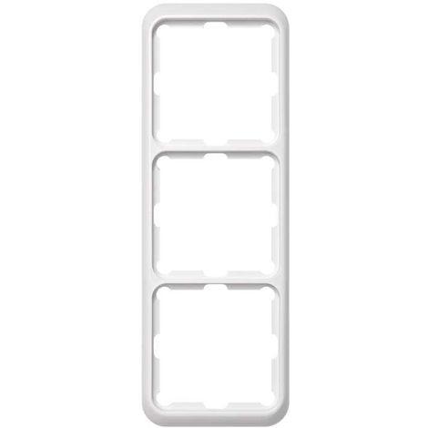Marco blanco 3 elementos 80x230mm. (Simon 75 75630-30)