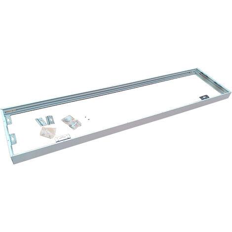 Marco Blanco para montaje en superficie de paneles LED 120x30