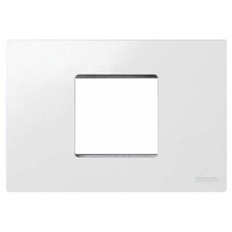Marco caja americana 2 módulos estrechos blanco Simon 27 Play 27612-65
