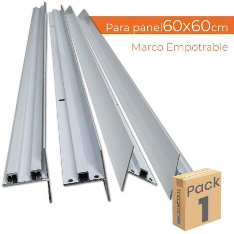 Marco de empotrar para paneles LED 60x60
