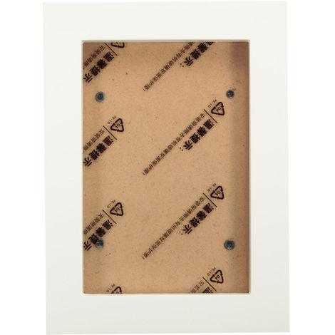 Marco de fotos de madera de 5 pulgadas Soporte de pared colgante Decoración de arte