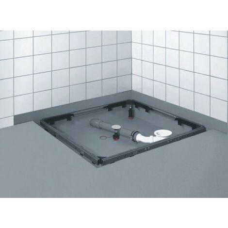 Instalación del plato de ducha de obra