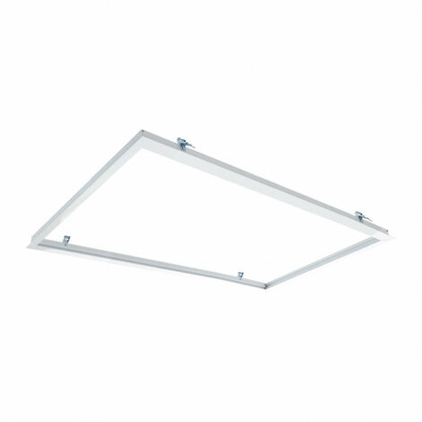 Marco Empotrable para Paneles LED 120x60cm BlancoBlanco