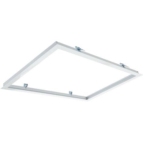 Marco Empotrable para Paneles LED 60x30cm BlancoBlanco - BlancoBlanco