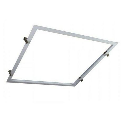 Marco Empotrable para Paneles LED 60x60cm Blanco. - Blanco
