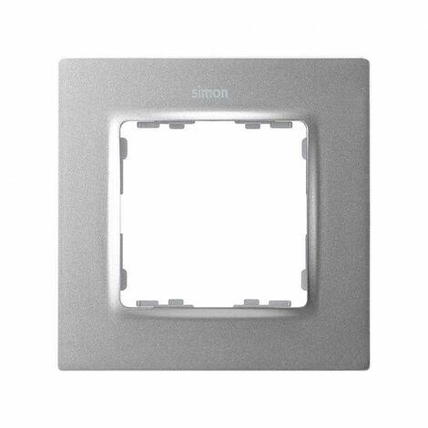 Marco para 1 elemento Simon 82 Concept 8200617-093 Aluminio