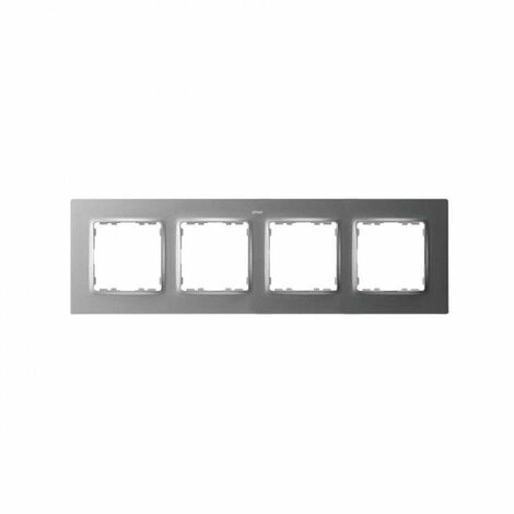 Marco para 4 elementos Simon 82 Concept 8200647-093 Aluminio