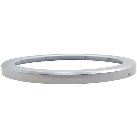 Marco para LED Downlight Ajustable 18W color Plateado