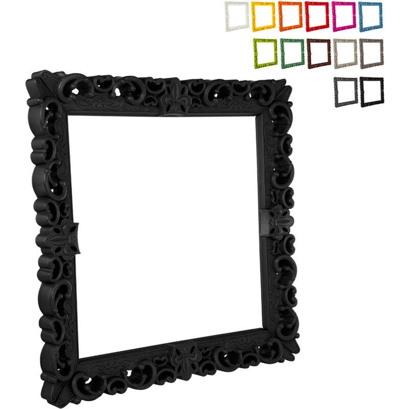 Marco cuadrado pop diseño moderno barroco Frame Of Love L | Color: Negro - Slide