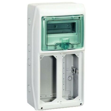 Marco Schneider industrial 8-módulo 2 enclavamiento del interruptor de tomas de corriente 10371
