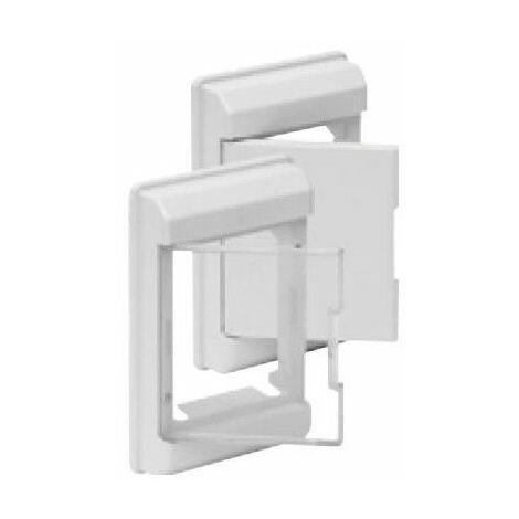 Marco y puerta BLANCO para cuadro eléctrico 4 elementos Solera 5253B