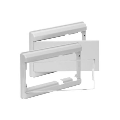 Marco y puerta BLANCO para cuadro eléctrico ICP + 8 o 14 elementos Solera 5213B