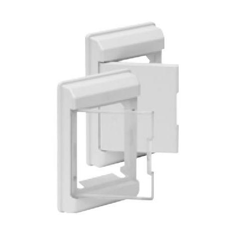 Marco y puerta GRIS para cuadro eléctrico 4 elementos Solera 5251