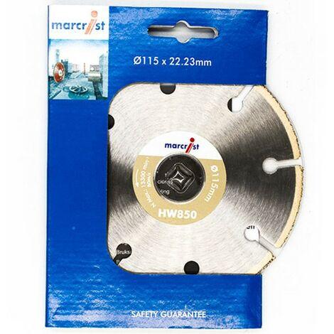 Marcrist Diamant-Trennscheibe 125x22.2mm HW850 SuperSlim