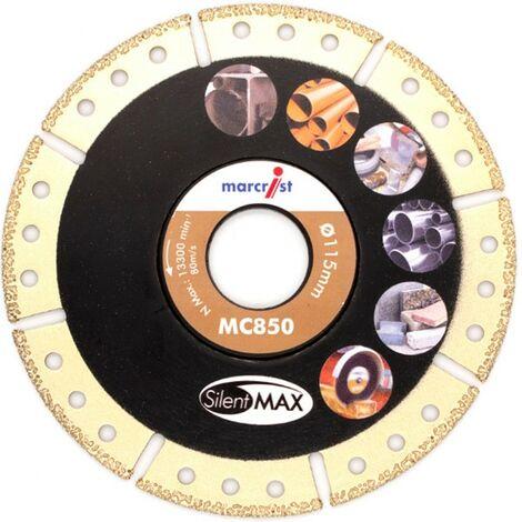 Marcrist Diamant-Trennscheibe 125x22.2mm mit 850 SilentMax Superab.Blade alle Materialien