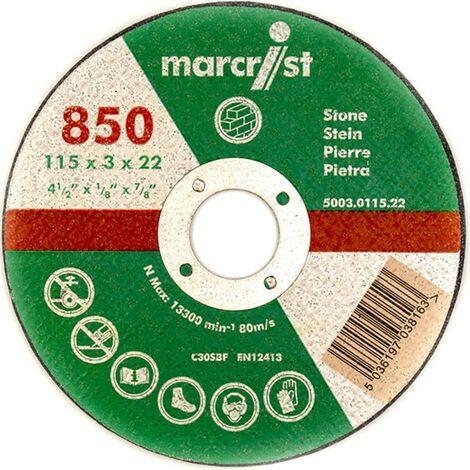 Marcrist Trennscheibe 125 x 2.5mm für Stein