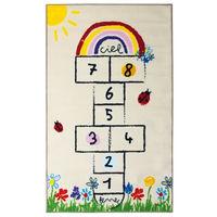 MARELLE Tapis enfant - 100 x 160 cm - Polyamide - Multicolore