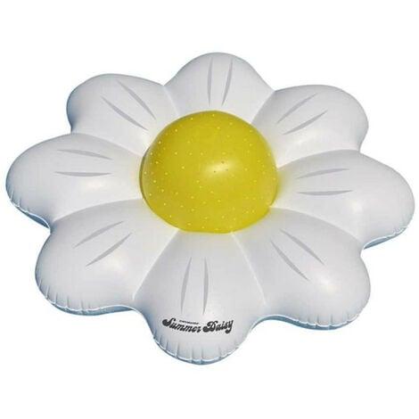 Marguerite flottante - Ballon gonflable pour piscine