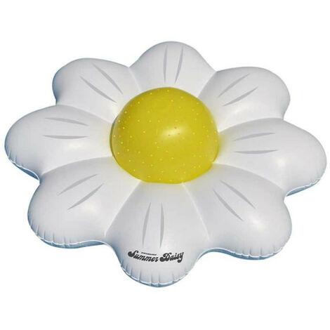Marguerite flottante - Ballon gonflable pour piscine - Rouge