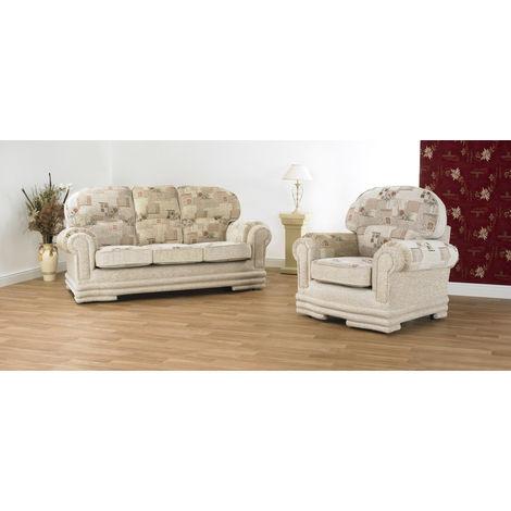 Maria 3 + 1 Seaters Fabric Sofa