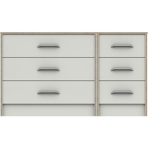 Marianne 3 Drawer Double Chest