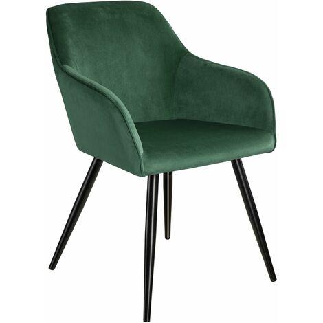 Marilyn Velvet-Look Chair