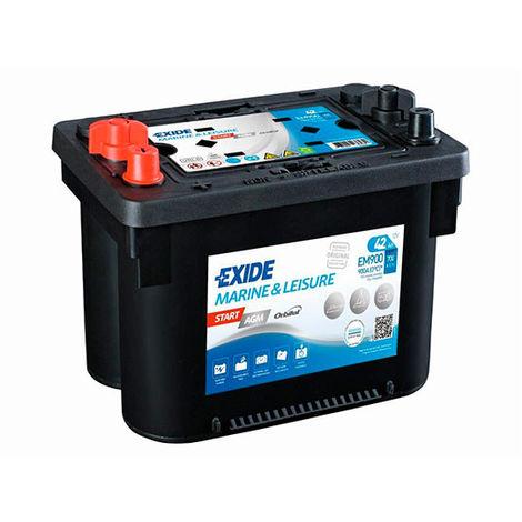 Marine battery EXIDE MARINE Start AGM EM900 12V 42Ah