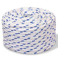 Marine Rope Polypropylene 6 mm 100 m White