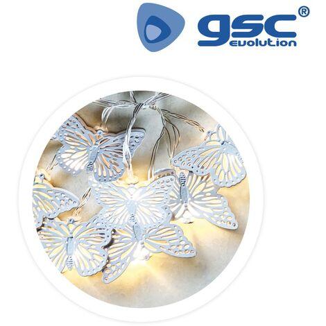 Mariposas blancas 2700-3000K 2M