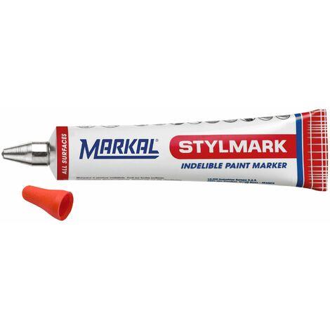 MARKAL - Marqueur écrimétal peinture orange - 10130701