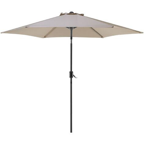 Market Garden Parasol Taupe Beige VARESE
