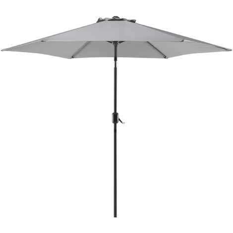 Market umbrella - ø 267 cm - Metal - Anthracite - VARESE