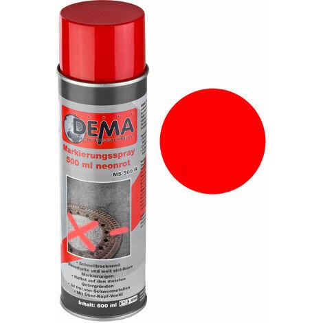 Markierungsspray / Markierfarbe 500 ml neon-rot Markierspray