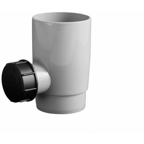 braun 1 Auslauf Marley Regensammler 80-105mm mit Filter