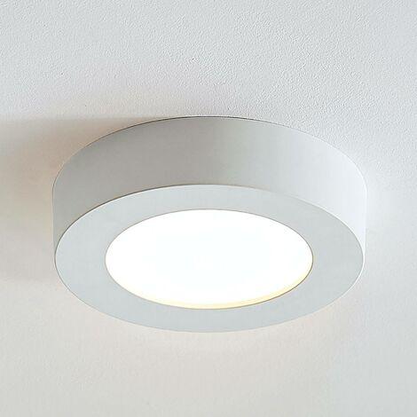 Marlo LED ceiling lamp white 3000K round 18.2cm