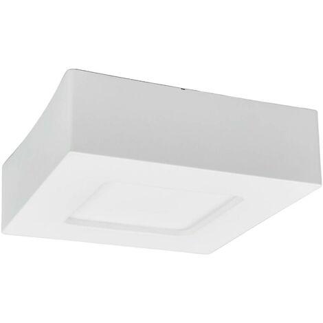 Marlo LED ceiling lamp white 4000K angular 12.8cm