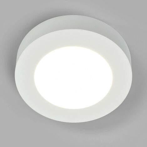 Marlo LED ceiling lamp white 4000K round 18.2cm