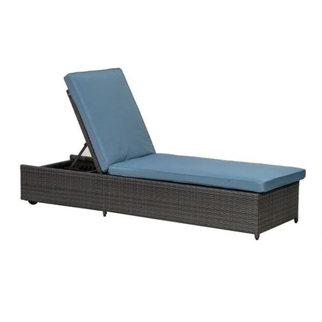 Marlow Sunlounger With 8cm Cushion - One Box