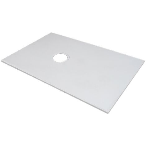 Marmox Showerstone Pro 1300mm x 800mm Wetroom Shower Base (Offset Drain)