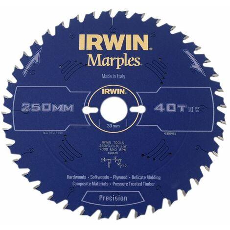 Marples Circular Saw Blade 250mm