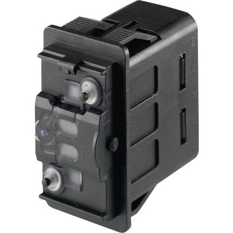 Marquardt Interrupteur à bascule pour lautomobile 3250.0184 12 V/DC, 24 V/DC 10 A 2 x Off/On à accrochage IP66/IP67 1 p